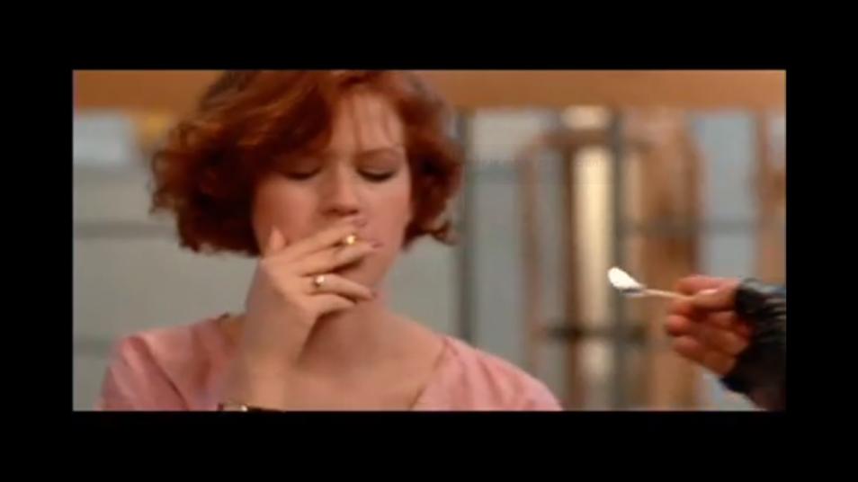 RETARD → Magazine - The Breakfast Club - Smoking scene