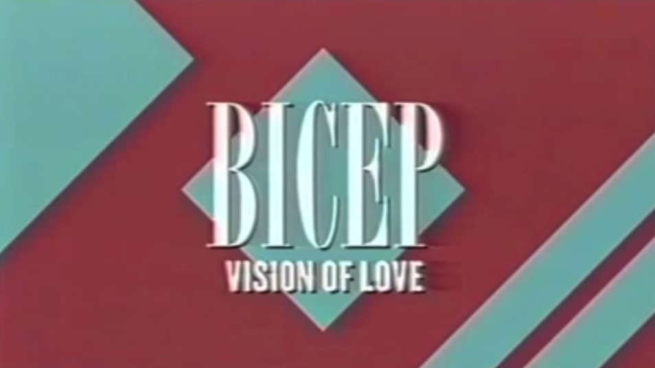 RETARD → Magazine - BICEP - Vision of love