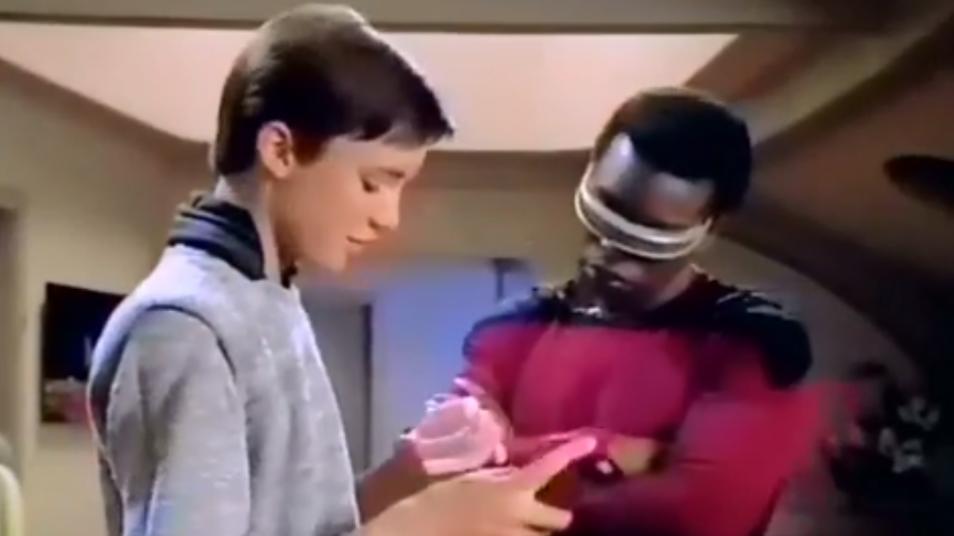 RETARD → Magazine - Star Trek: The Next Generation Shut Up Wesley Montage