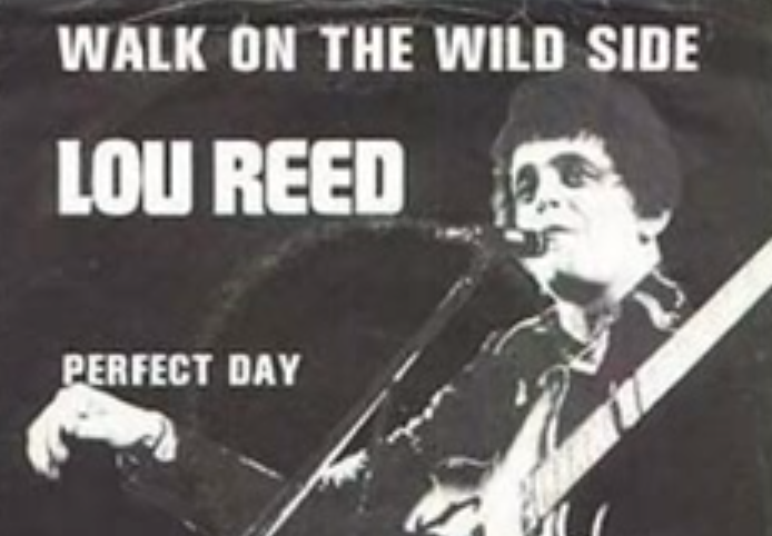 RETARD → Magazine - Lou Reed- Walk on the Wild Side