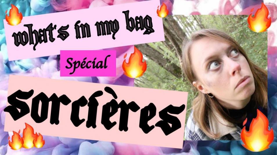 RETARD → Magazine - What's in my bag - SPÉCIAL SORCIÈRES