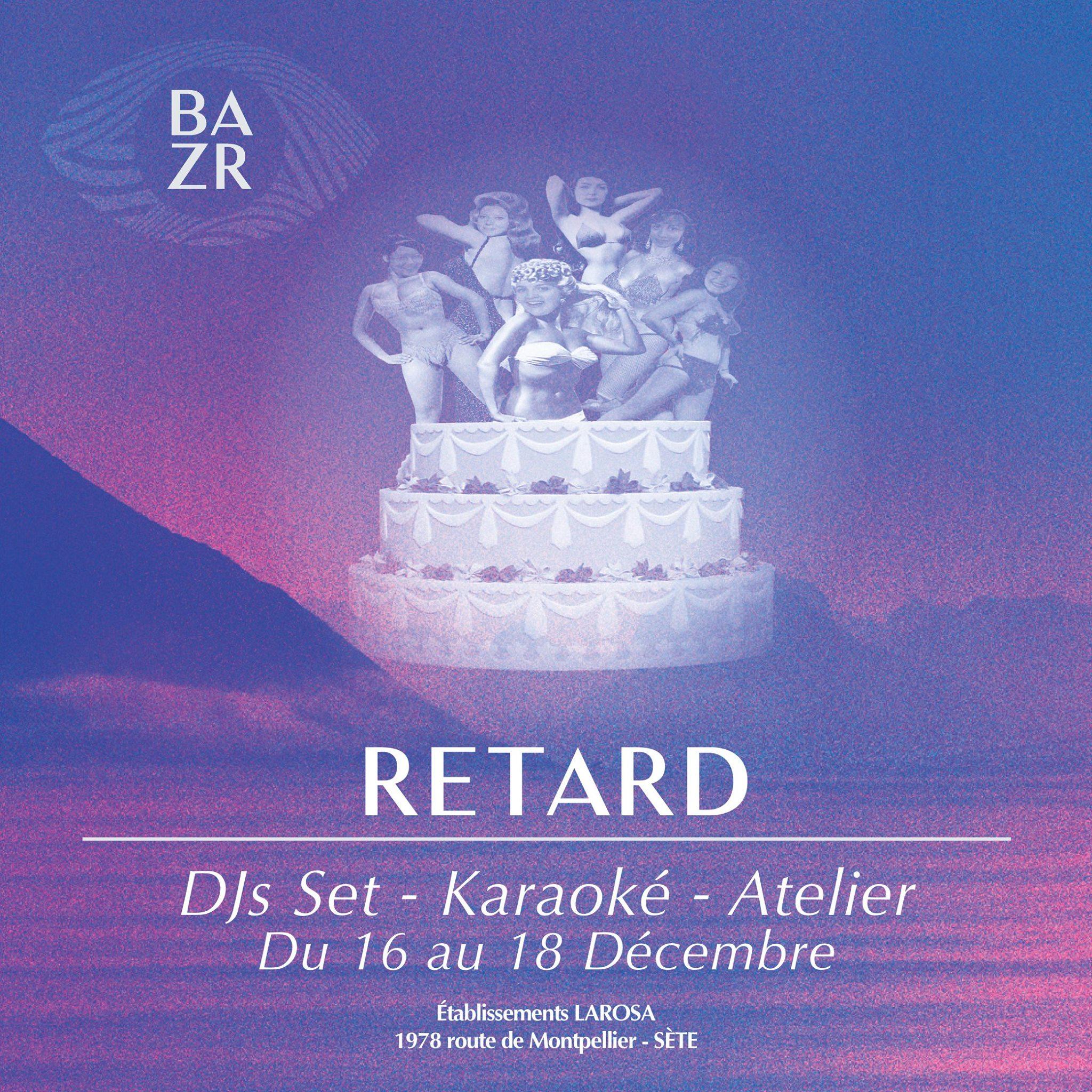 Le 16, 17 et 18 décembre, on sera au BAZR Festival !