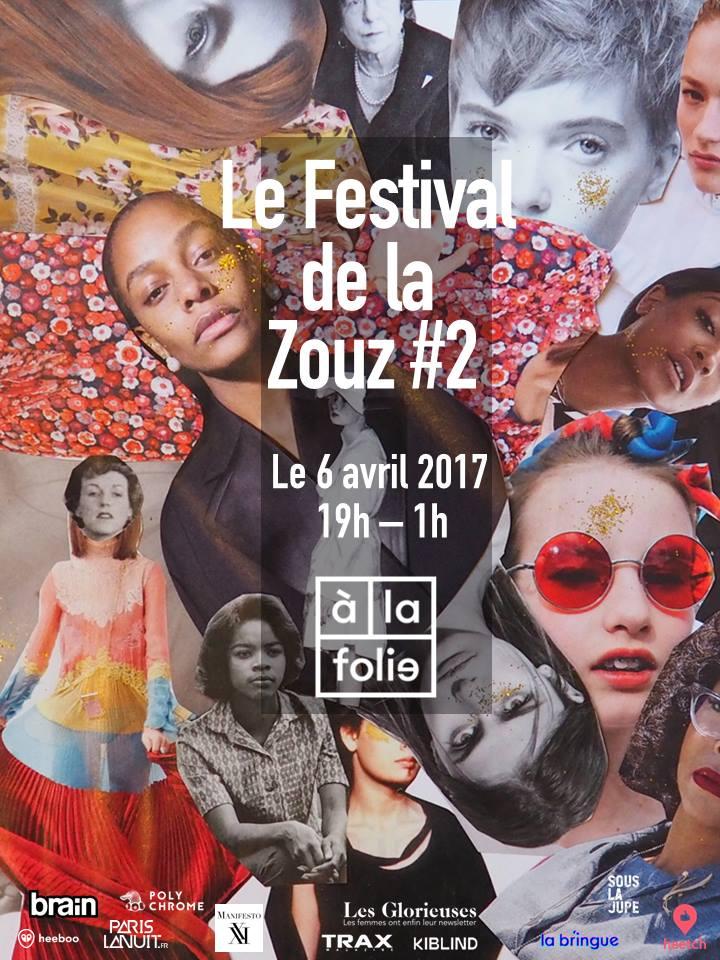 Le festival de la Zouz le 6 avril à la Folie !