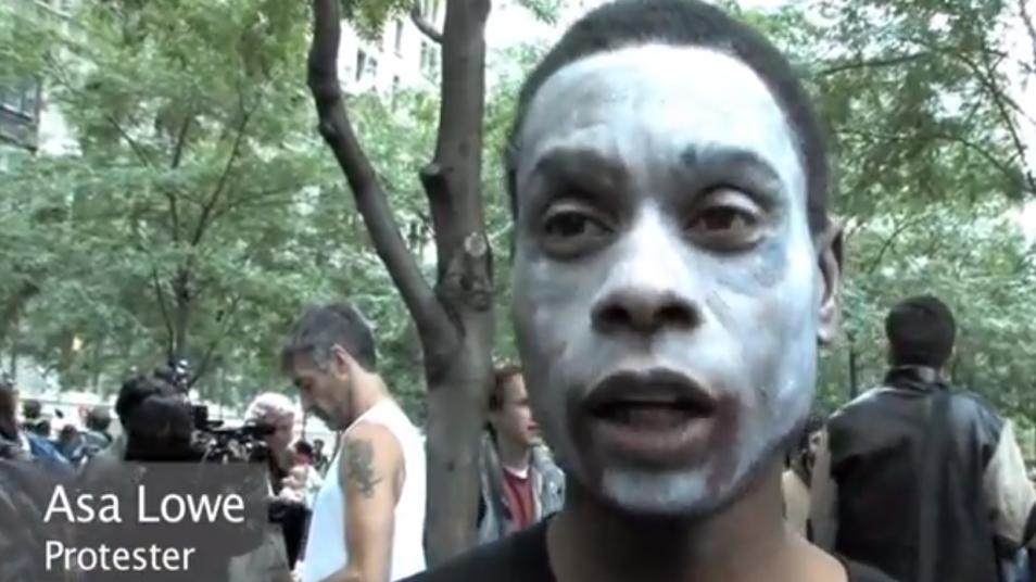 RETARD → Magazine - Wall Street zombie march