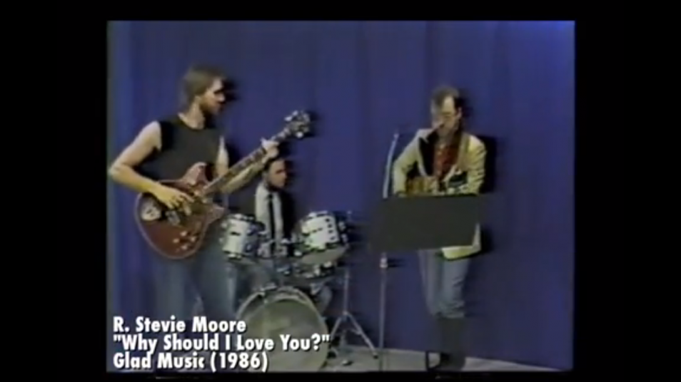 RETARD → Magazine - R. Stevie Moore - Why Should I Love You? (1986)