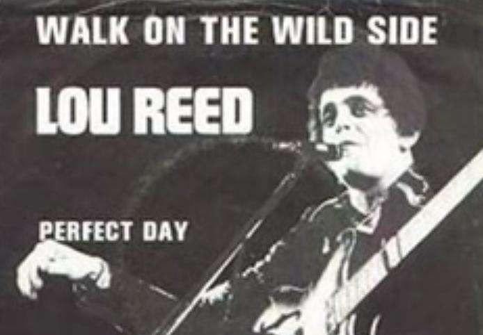 RETARD → Magazine - Lou Reed- Walk on the Wild Side